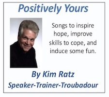 CD cover by Kim Ratz motivational speaker trainer singer songwriter